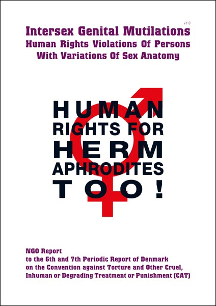 2015 CAT Denmark NGO Report Intersex IGM