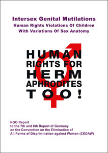 2016 CEDAW Germany NGO Intersex IGM