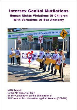 2017 CEDAW Italy NGO Intersex IGM