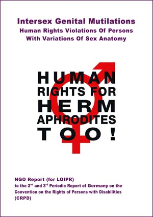 2018 CRPD Germany LOIPR Thematic NGO Report Intersex IGM